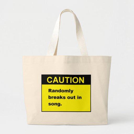 Random Song Jumbo Tote Bag