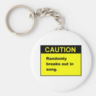Random Song Key Chain