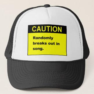 Random Song Trucker Hat