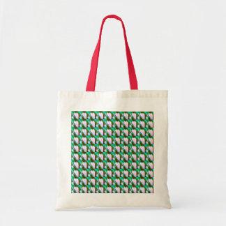 Random Splattered Paint Abstract Pattern Budget Tote Bag