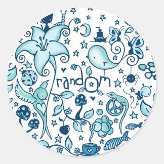 RandOm Round Sticker