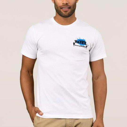 Random Tasks Men's T (black on white) T-Shirt