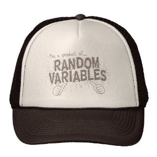 random variables trucker hat