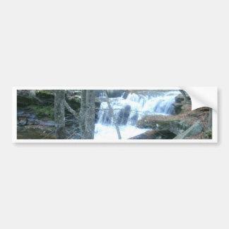Random Waterfall Car Bumper Sticker