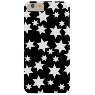 Random White Stars on Black iPhone 6/6s Plus Barely There iPhone 6 Plus Case