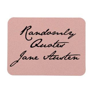 Randomly Quotes Jane Austen Magnet