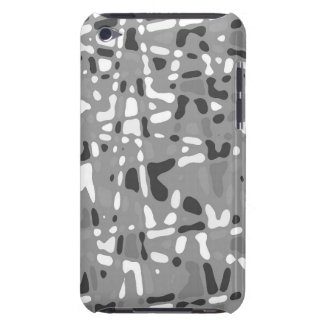 Randon black and gray design, iPod hard shell case iPod Touch Case