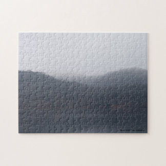 Randor Lake in Fog Jigsaw Puzzle