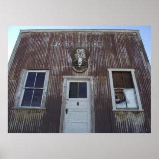 Randsburg, la oficina de correos de CA Póster