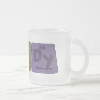 Randy as Radium Nitrogen Dysprosium Frosted Glass Coffee Mug