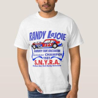Randy Lajoie SNYRA Danbury Racearena justo Playera