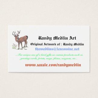 Randy Medlin Art...Business Card