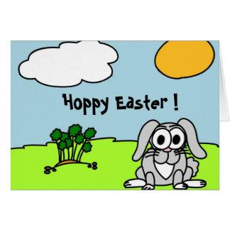 Randy Rabbit Easter Greeting Card