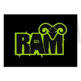 "Randy ""The Ram"" Greeting Card"
