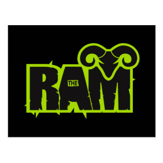 "Randy ""The Ram"" Postcard"