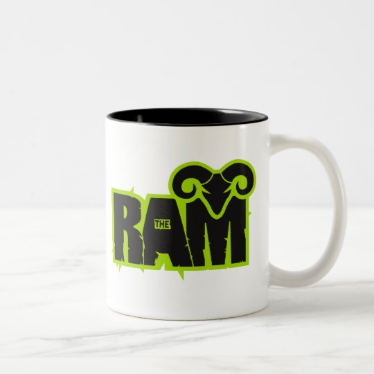 "Randy ""The Ram"" Two-Tone Coffee Mug"