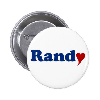 Randy with Heart 2 Inch Round Button