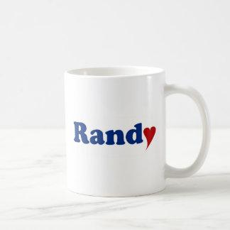 Randy with Heart Coffee Mug