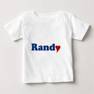 Randy with Heart Infant T-shirt