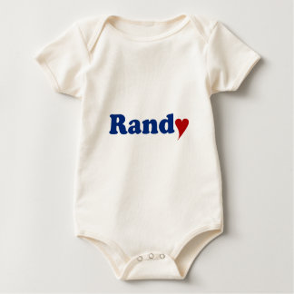 Randy with Heart Romper