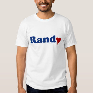 Randy with Heart T Shirt