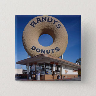 Randy's Donuts California Architecture Button