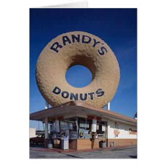 Randy's Donuts California Architecture Card