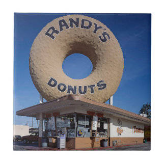 Randy's Donuts California Architecture Tile