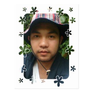 Randy's Profile Picture Postcard