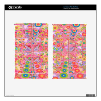 Rang Basanti Magic  Play - Base color customizable Kindle Fire Skins