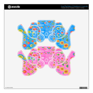 Rang Basanti Magic  Play - Base color customizable PS3 Controller Decals