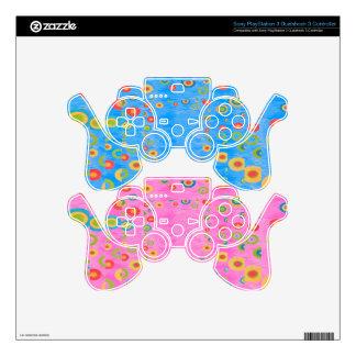 Rang Basanti Magic  Play - Base color customizable PS3 Controller Skin
