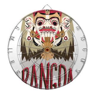 Rangda Dartboard With Darts