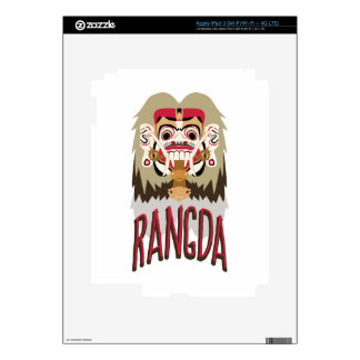 Rangda Skin For iPad 3
