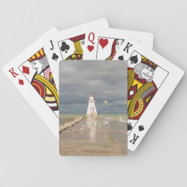 Range Lighthouse. Southampton, Ontario Playing Cards