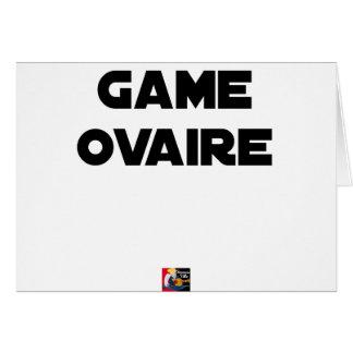 Range Ovary - Word games - François City Card