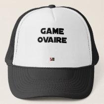 Range Ovary - Word games - François City Trucker Hat