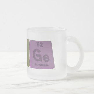 Range-Ra-N-Ge-Radium-Nitrogen-Germanium.png Frosted Glass Coffee Mug