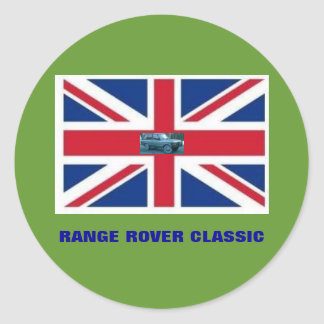 RANGE ROVER CLASSIC CLASSIC ROUND STICKER