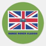 RANGE ROVER CLASSIC ROUND STICKERS