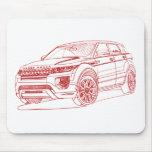 Range Rover Evoque 2012 Tapete De Ratones