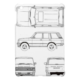 Range Rover Land Landy Classic Hiking Duck Case For The iPad Mini