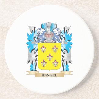 Rangel Coat of Arms - Family Crest Beverage Coasters