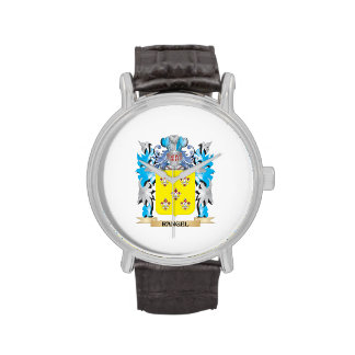 Rangel Coat of Arms - Family Crest Wrist Watches