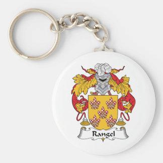 Rangel Family Crest Key Chain