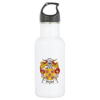 Rangel Family Crest 18oz Water Bottle