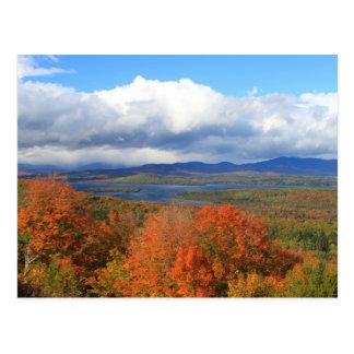 Rangeley Lake Autumn View Postcard