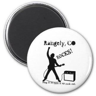 Rangely, CO 2 Inch Round Magnet