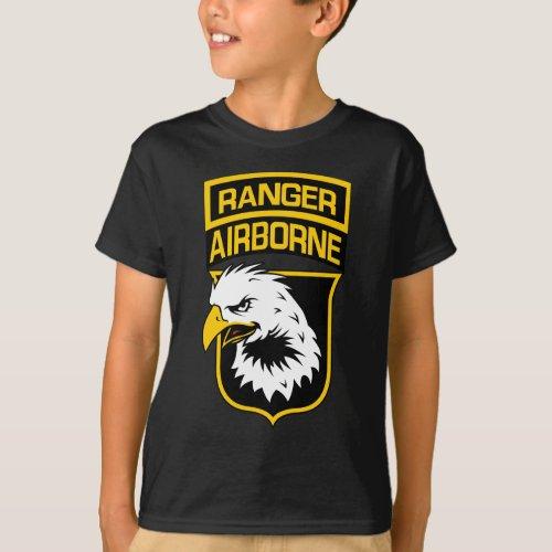Ranger Airborne Eagle Patch T_Shirt