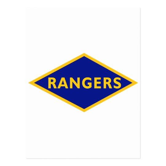Ranger Battalions Postcard